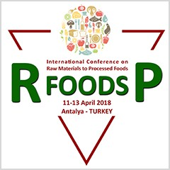 International Conference on Raw Material to Processed Foods