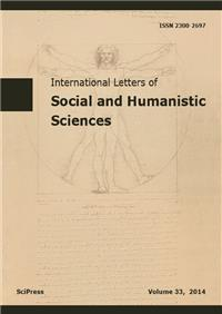 International Letters of Social and Humanistic Sciences
